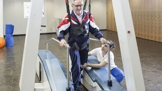 Gait trainer THERA-Trainer lyra - the novel gait rehabilitation system