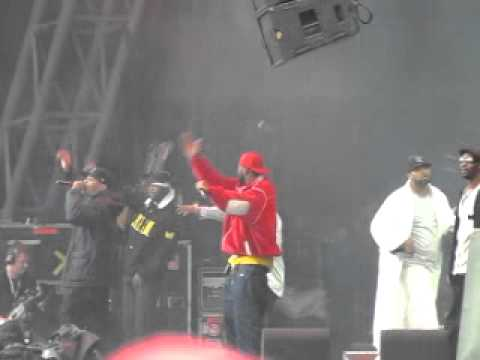Wu Tang Clan Glastonbury Festival 2011 part 1