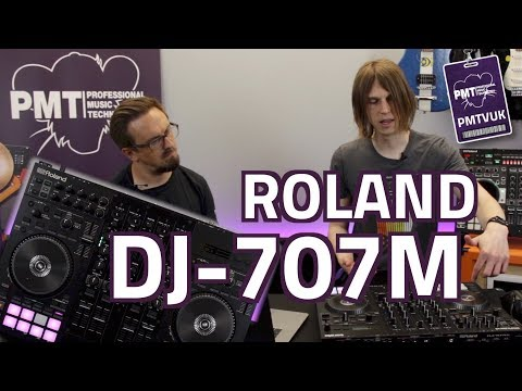 NEW! Roland DJ-707M...The Ultimate Serato Controller & Mixer For Mobile DJs!