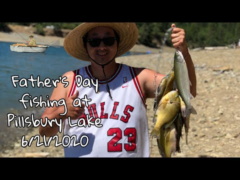 Father's Day 2020 - Fishing At Lake Pillsbury, California