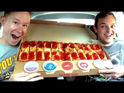 Pizza Hut's Big Flavor Dipper Food Review