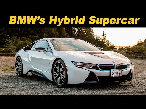 2016 BMW i8 Plug In Hybrid Review and Road Test - Detailed in 4K UHD