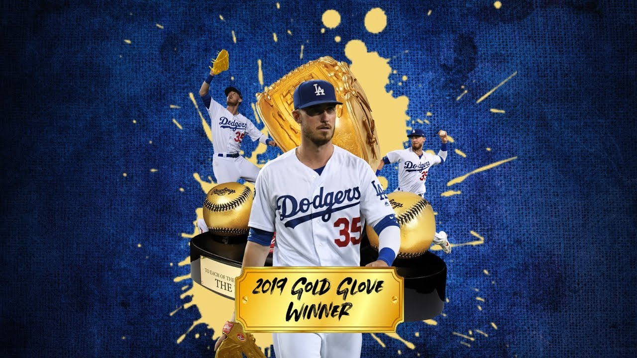 Dodgers' Cody Bellinger wins a Gold Glove