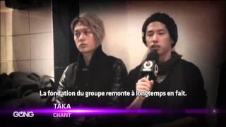 One Ok Rock, le célèbre groupe de rock japonais répond aux question...