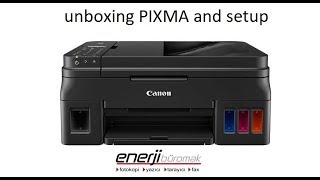 unboxing CANON PIXMA G4410, G4400, G4411, G4510, G4500, G4200, G4210 and setup