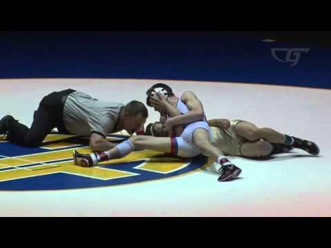 113 lbs. Final: Liam Cronin (Servite) vs Ethan Leake (Buchanan)