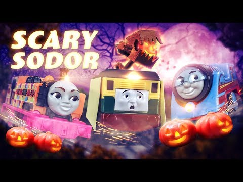 Philip and the Halloween Parade | Scary Sodor #1| Thomas & Friends