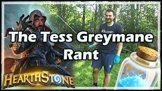 The Tess Greymane Rant - Witchwood / Hearthstone