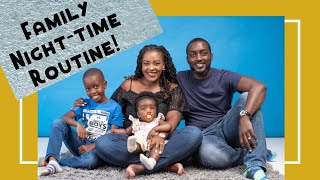 OUR FAMILY EVENING & NIGHT-TIME ROUTINE // Blended Family