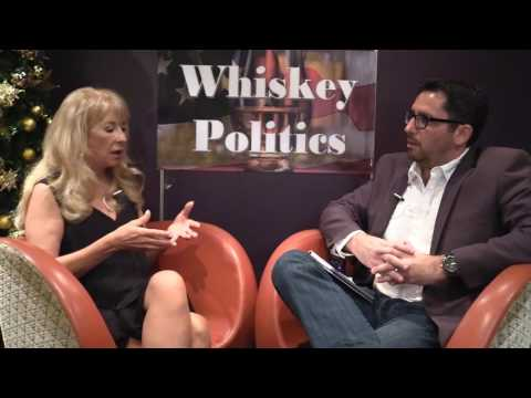 CBS & ABC Political Editor Linda Breakstone talks media at Whiskey Politics with Dave Sussman