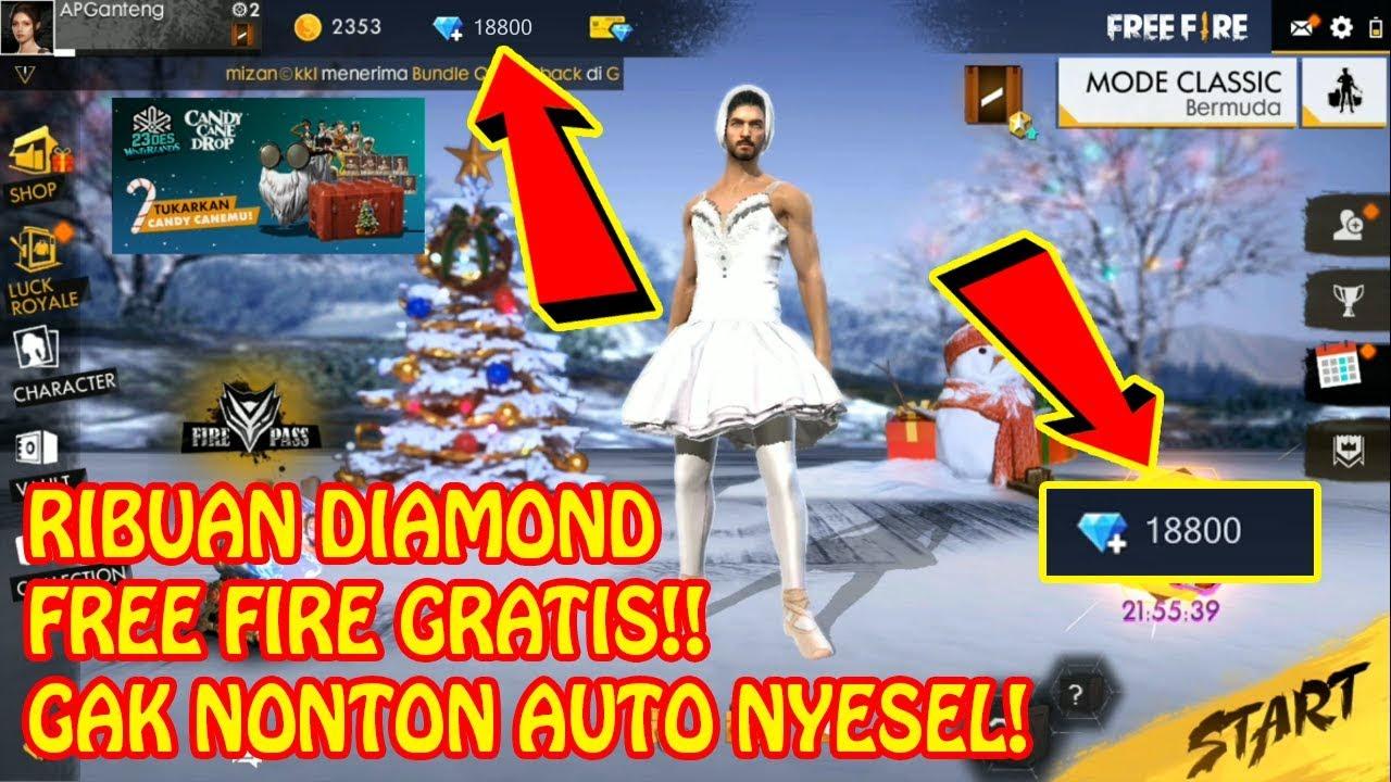 2 Cara Mudah Mendapatkan Ribuan Diamond Free Fire Gratis Youtube