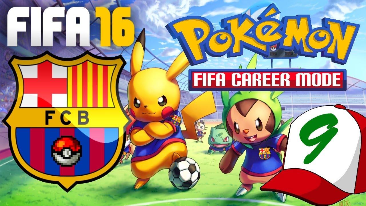 FIFA 16 Pokemon Career Mode EP9 - AGILITY ON FLEEEEEEEK!!