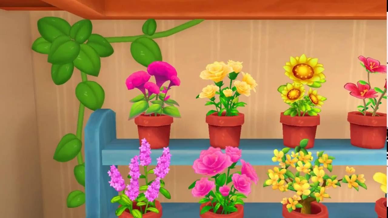 Flower garden cartoon - Education Cartoon Flower Garden Kartoon