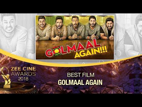 Golmaal Again | Best Film Award | Zee Cine Awards 2018