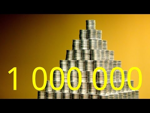 The Largest Coin Piramid in the World: Building of the Million Centas Pyramid