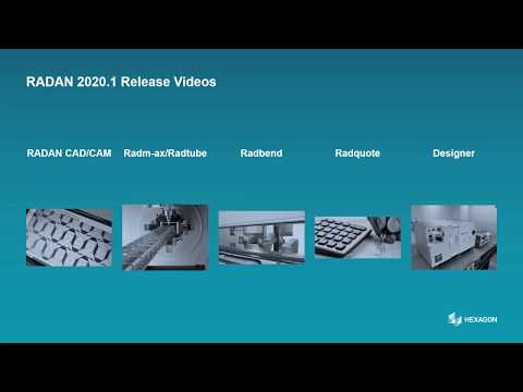 Designer | RADAN 2020.1