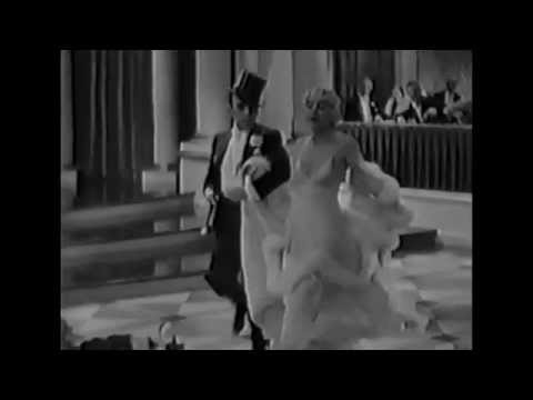 George Raft and Carole Lombard dance to a jazzy number in Bolero (1934)