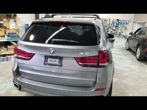 Blackvue DR900S-2CH And B-124 Ultra Battery Pack On BMW X5 2019