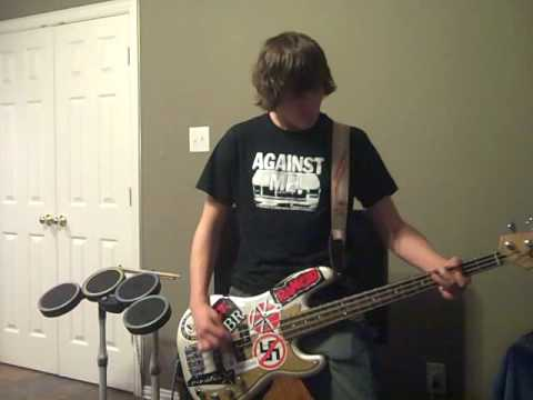 Hot Water Music Trusty Chords Bass Cover Youtube