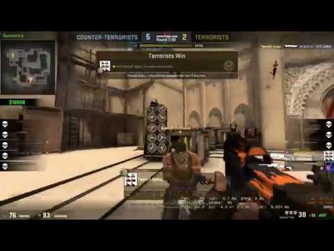 FIRST TIME I KNIFED SOMEONE IN COMPETITIVE [I LOVE CS:GO]