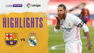 Barcelona 1-3 Real Madrid | LaLiga 20/21 Match Highlights