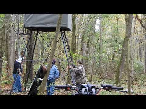 Landmark 10' Tower With Hunting Blind Unboxing & Review