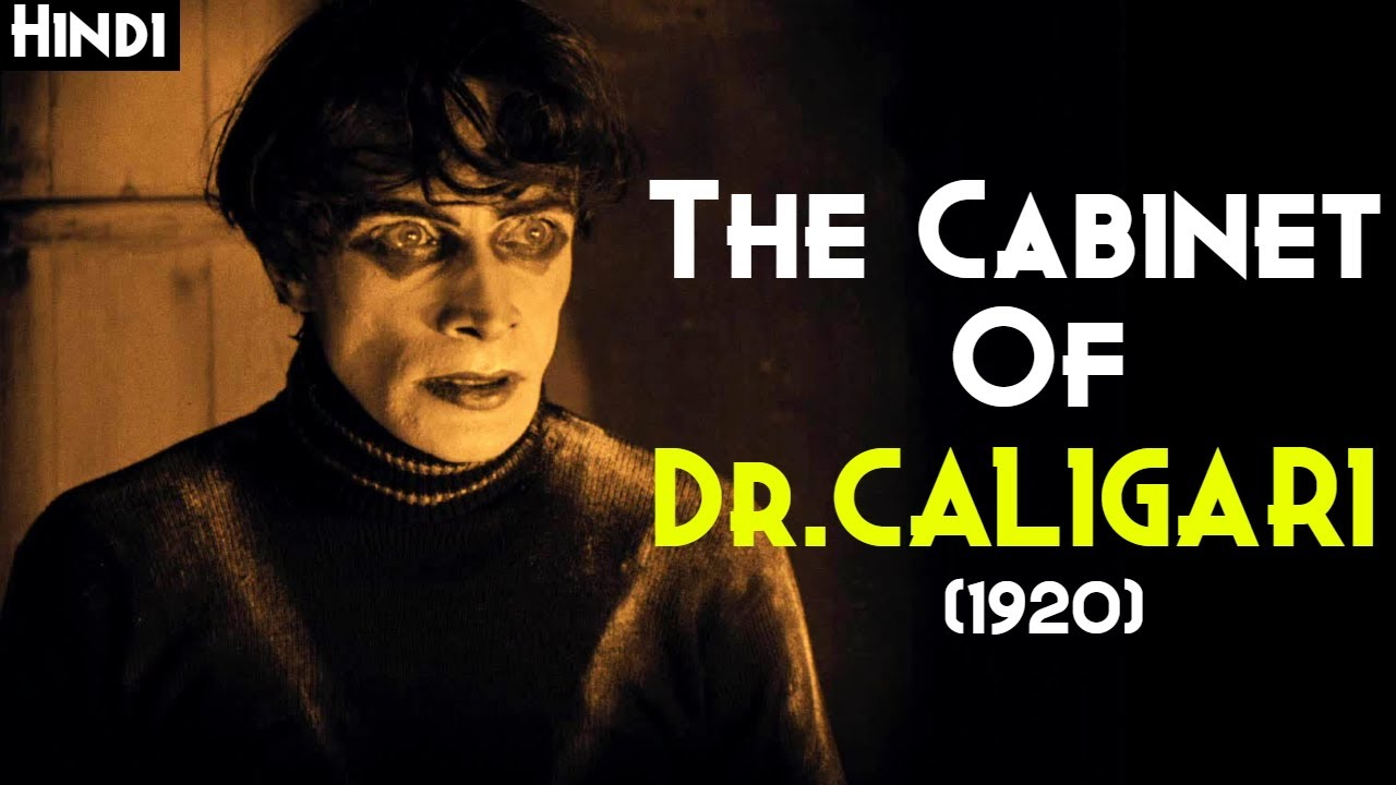 THE CABINET OF DR.CALIGARI (1920) Explained In Hindi | First Horror Film