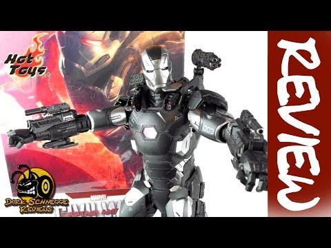 Hot Toys✤ WAR MACHINE Civil War MMS 344 D15 Review [German/Deutsch]