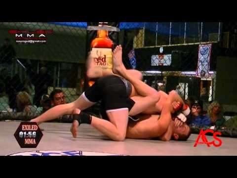 EXILED MMA and ACSLive.TV PRESENTS  Danny Williams Vs Tyler Grabe