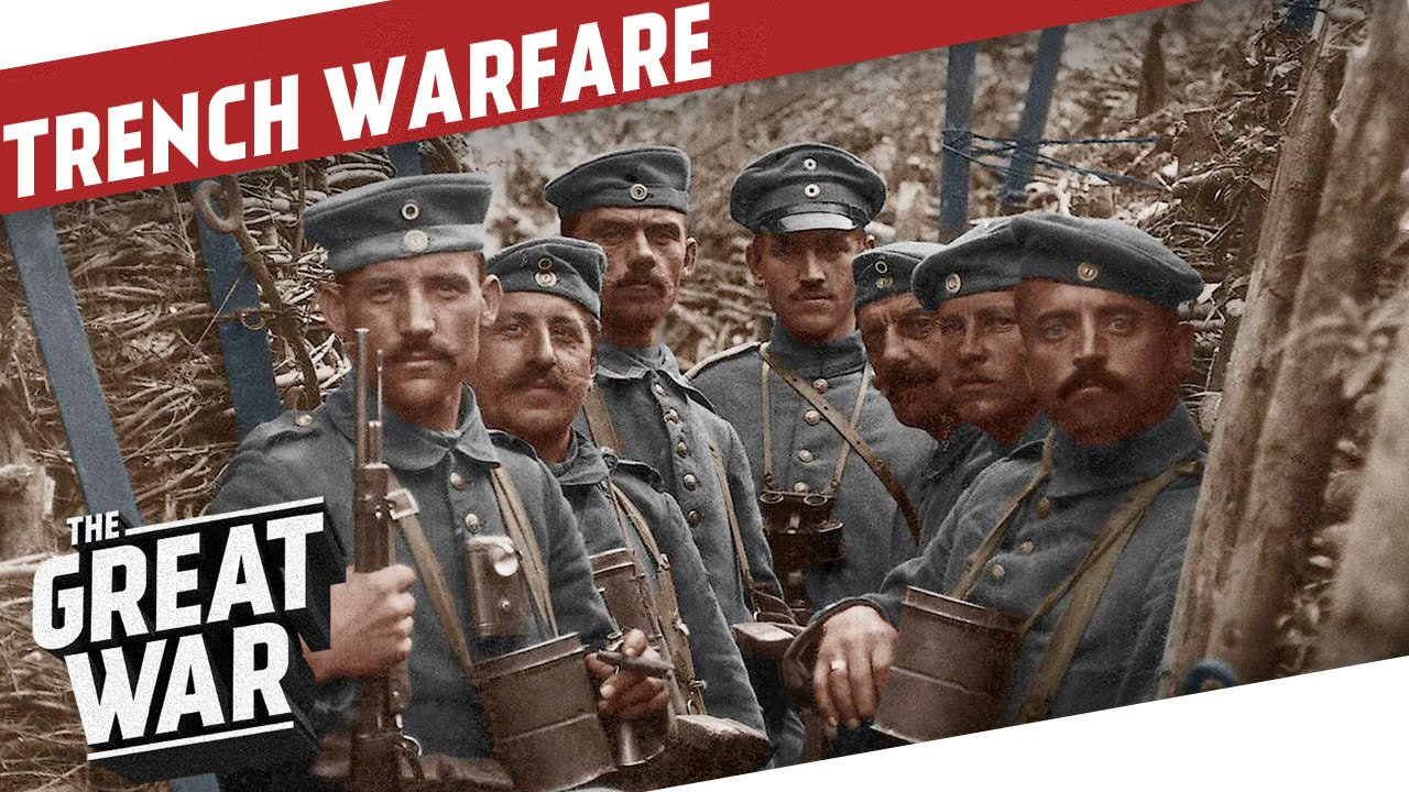 trench warfare in world war i the great war special trench warfare in world war 1 i the great war special