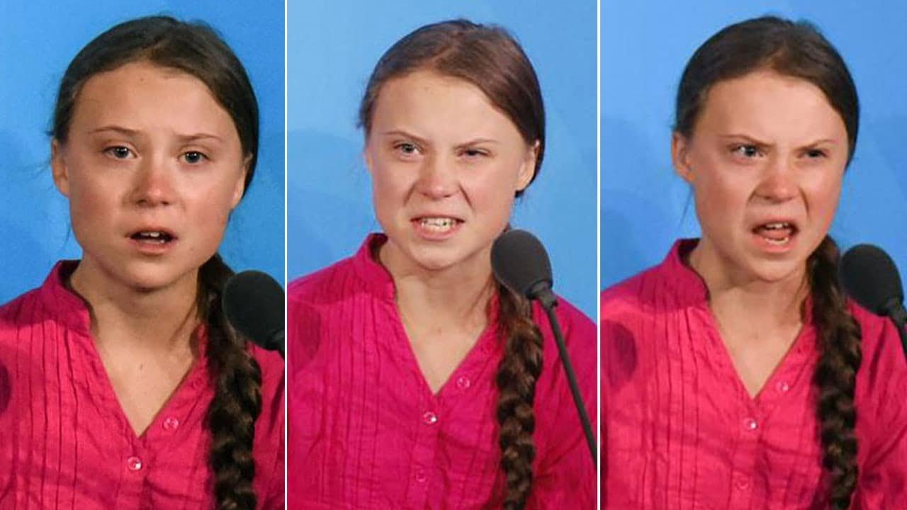 Greta Thunberg BLASTS World Leaders At UN Climate Summit - They applaud!