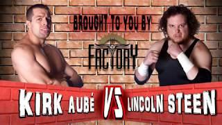 Red Rock Wrestling Season 2 Episode 5 | Kirk Aube vs Lincoln Steen