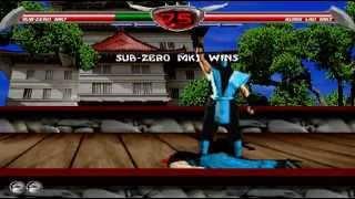 Mortal Kombat Chaotic - MK1 Sub-Zero (aka Bi-Han) playthrough