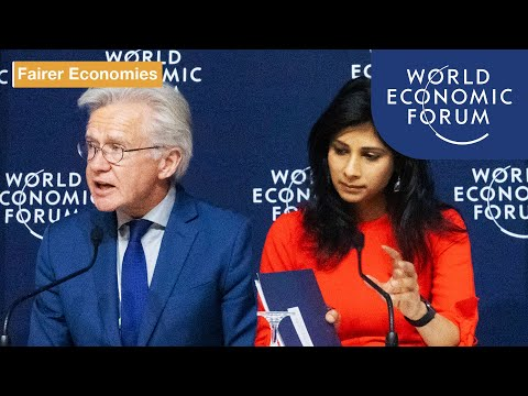 Press Conference: IMF World Economic Outlook Update | Davos 2020