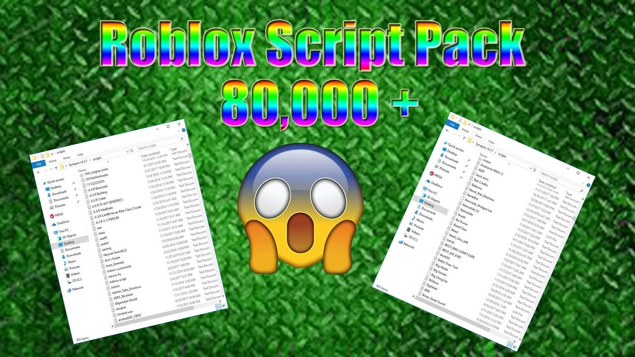 Fixed Link 2020 Roblox Script Pack 80k Scripts Youtube