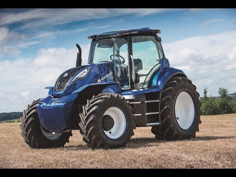 The New Holland Agriculture methane powered concept tractor (Short Version)