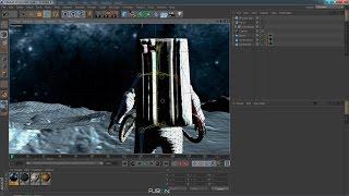 Cinema 4D - Tutorial Rigging Avanzado + Creación de Terreno