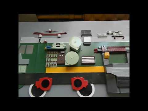 Наглядно об  оборудовании электровоза ВЛ80с на примере макета