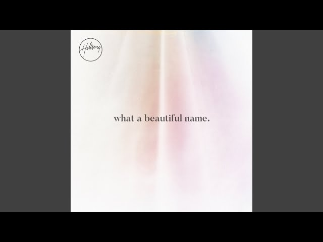 What A Beautiful Name (Alternate Acoustic)