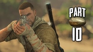 Sniper Elite 3 Gameplay Walkthrough Part 10 - Cardiac Arrest (PS4)