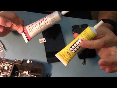 Тест клея B-7000 и E-8000. Glue B-7000 & E-8000