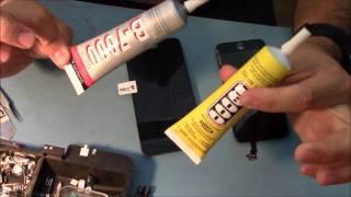 Тест клею B-7000 та E-8000. Glue B-7000 & E-8000
