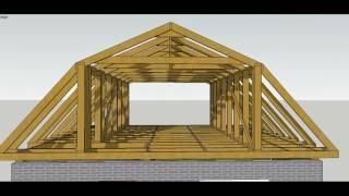 Мансардный этаж (мансарда) своими руками – строительство, устройство, монтаж + фото-видео