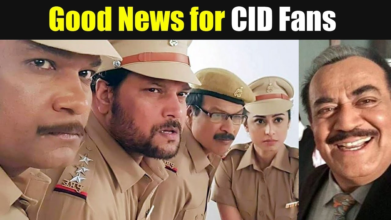 Good News for CID Fans, CIF Serial Time, Date, Channel