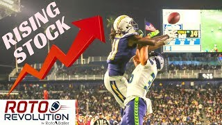 2018 Fantasy Football - Players With Rising Stock