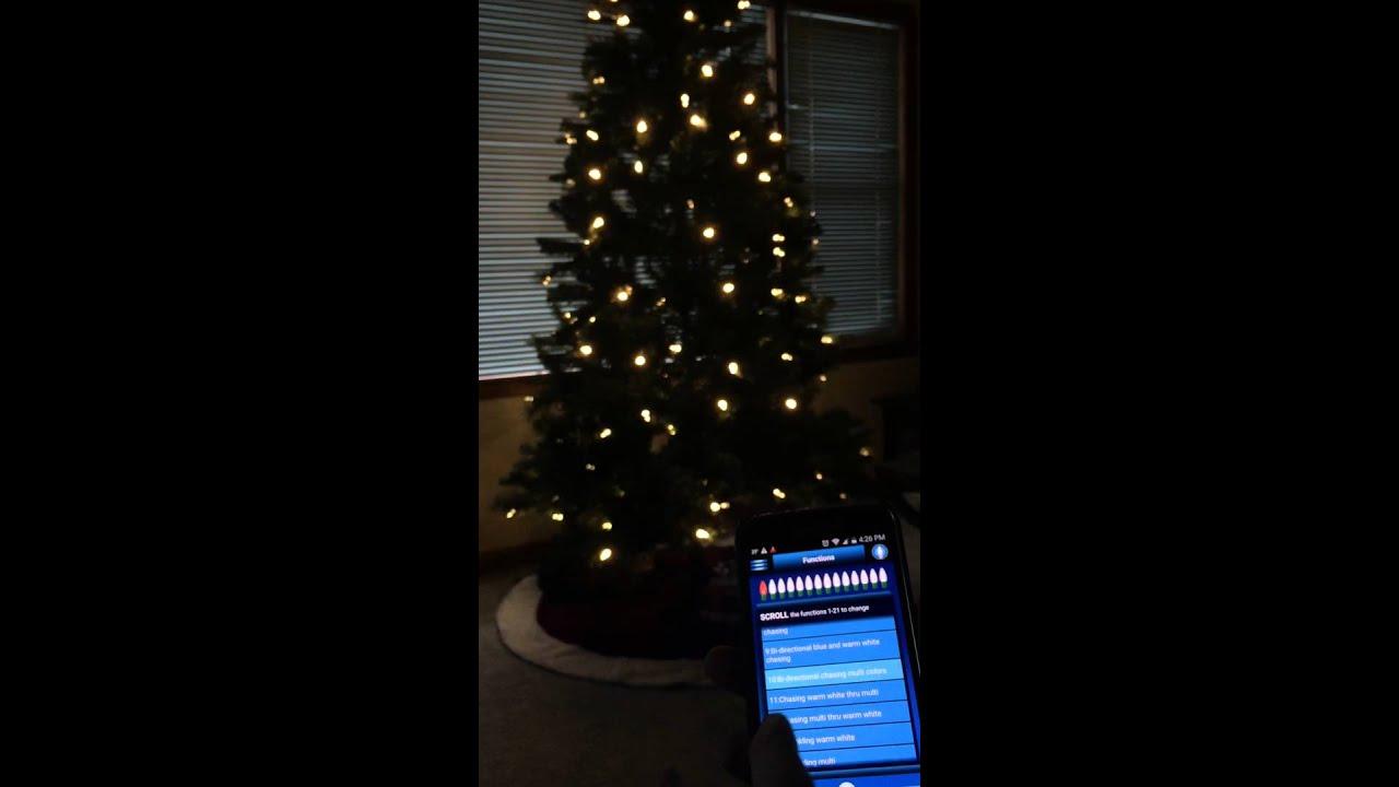 Philips Illuminate Christmas tree - YouTube