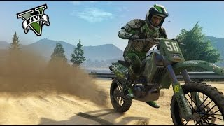 CRAZY DIRT BIKE MONTAGE - GTA 5