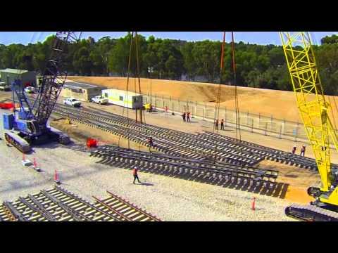 Rail Revitalisation Project - Adelaide Yard Works