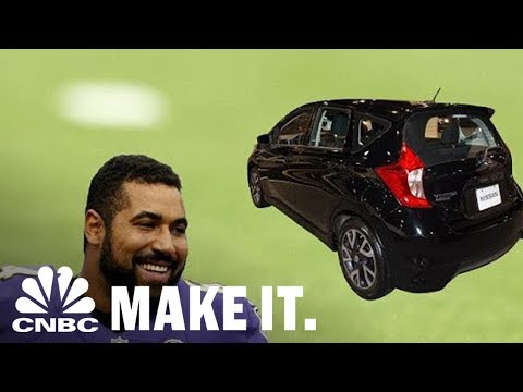 NFL Player John Urschel Retired To Get A PhD From MIT And Drives A Used Hatchback | CNBC Make It.