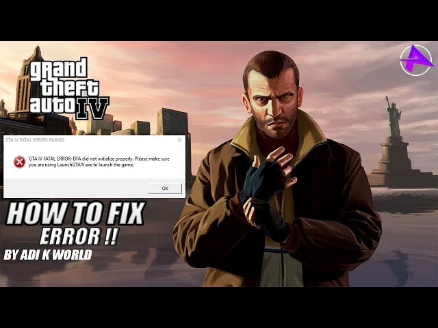How to fix GTA 4